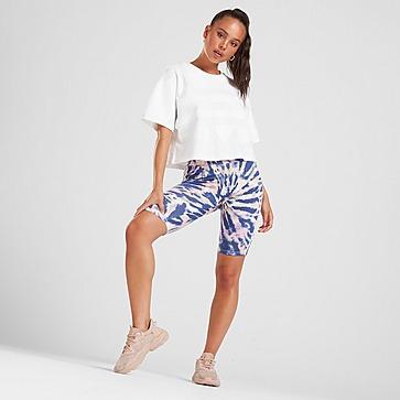 adidas Originals Tie Dye Cycle Shorts Dames