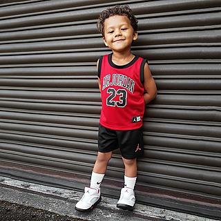 Jordan DNA Shirt/Shorts Set Baby's