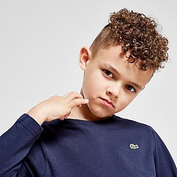 Lacoste T-shirt met lange mouwen voor kinderen