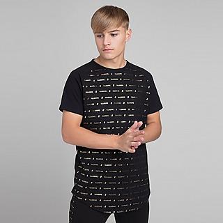 ILLUSIVE LONDON Black Gold T-shirt Junior