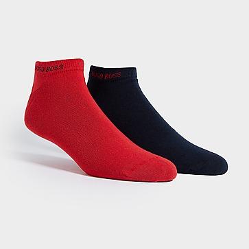 BOSS 2 paar onzichtbare sokken