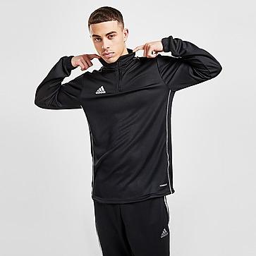 adidas Football Crew 1/2 Zip Training Top Heren