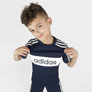 adidas Lineair essentieel T-shirt / korte broek voor kinderen