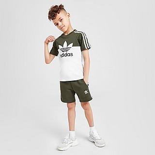 adidas Originals Sliced T-Shirt/Shorts Set Kinderen