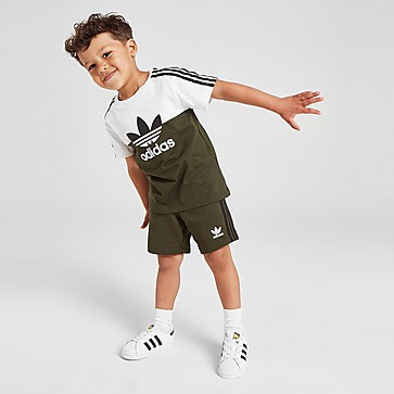 adidas Originals Sliced T-shirt/Shorts Set Baby's
