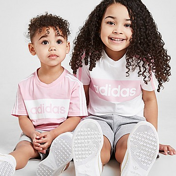 adidas Lineair Essential T-shirt / short voor meisjes voor baby's
