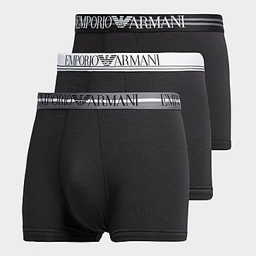 Emporio Armani Loungewear 3 Pack Mix Waistband Boxershorts Heren