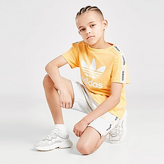 adidas Originals Tape T-shirt/Shorts Set Kinderen