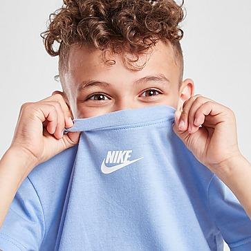 Nike Swoosh Tape T-shirt/Shorts Set Kinderen