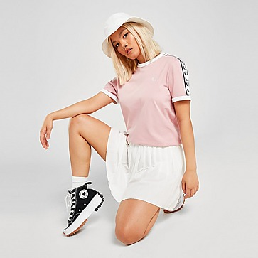Fred Perry Tape Ringer T-shirt Dames