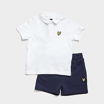 Lyle & Scott Polo Shirt/Shorts Set Infant