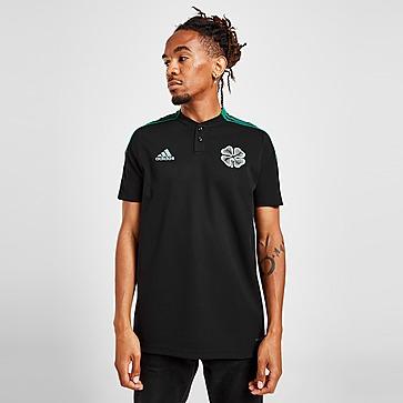 adidas Celtic FC Cotton Training Polo Heren