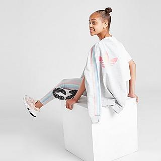 adidas Originals Meisjes Tricolour 3-Stripes SS Training Top Junior