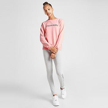 Calvin Klein Girls' Institutional Logo Sweatshirt Junior