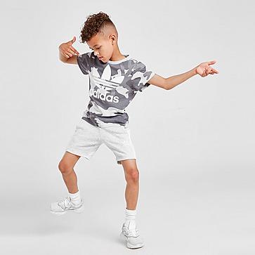 adidas Originals Camo T-Shirt/Shorts Set Children