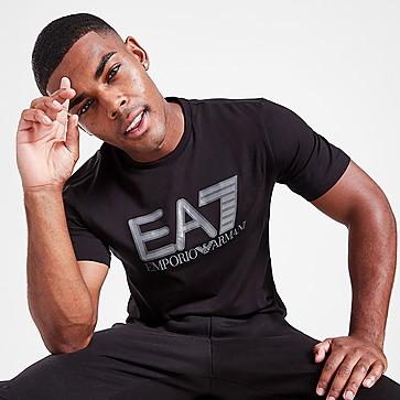 Emporio Armani EA7 Visibility Logo Short Sleeve T-Shirt Heren
