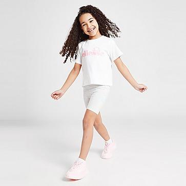Ellesse Meisjes Virina T-shirt/Fietsbroek Set Kinderen