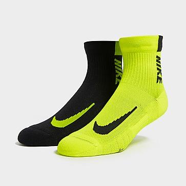 Nike 2-Pack Running Ankle Socks