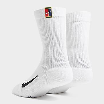 Nike 2 Pack Crew Court Heritage Sokken Heren