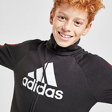 adidas Colour Block Big Badge Of Sport Tracksuit Junior