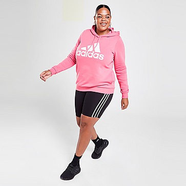 adidas Core Badge Of Sport Overhead Plus Size Hoodie
