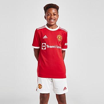 adidas Manchester United 2021/22 Thuis Voetbalshorts Junior