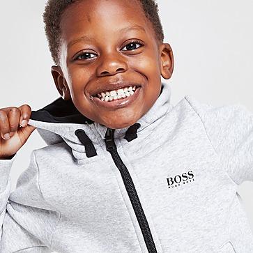BOSS Small Logo Fleece Tracksuit Children