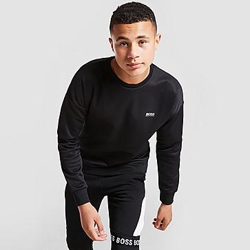 BOSS Back Graphic Crew Sweatshirt Junior