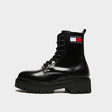 Tommy Jeans Urban Lace Up Boots Women's