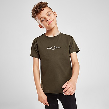 Fred Perry Central Logo T-Shirt Children