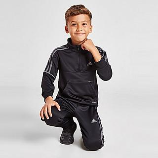adidas Match Quarter Zip Tracksuit Children