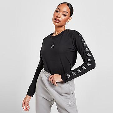 adidas Originals Metallic Tape Long Sleeve T-Shirt