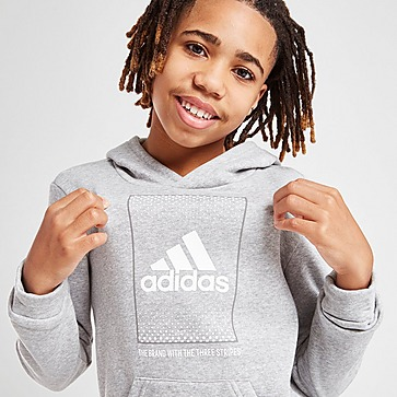 adidas Badge of Sport Fade Overhead Hoodie Junior