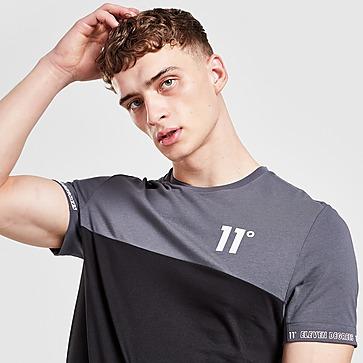 11 Degrees T-shirt met tape
