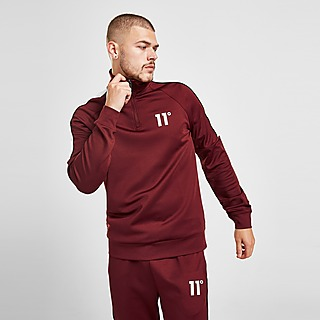 11 Degrees Poly Track Top Heren