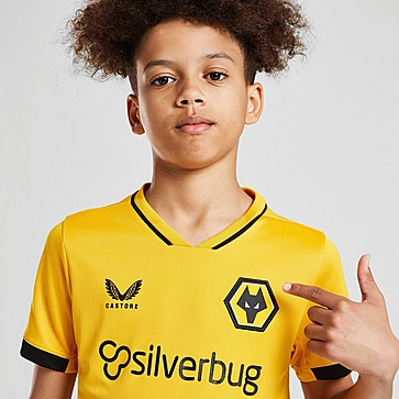 Castore Wolverhampton Wanderers 21/22 Thuisshirt Junior