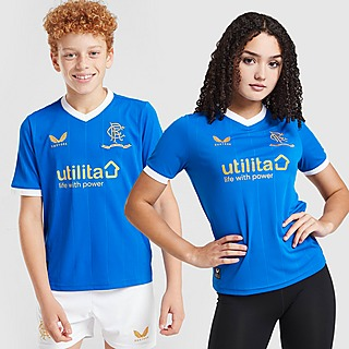 Castore Rangers FC 2021/22 Home Shirt Junior