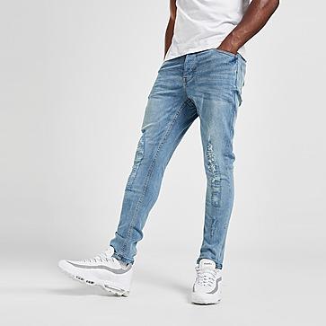Brave Soul Justin Heavy Rip Jeans