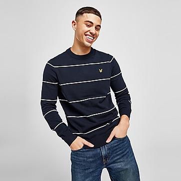 Lyle & Scott Striped Knit Sweathshirt