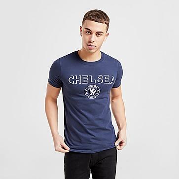 Official Team Chelsea FC Badge T-Shirt Herren