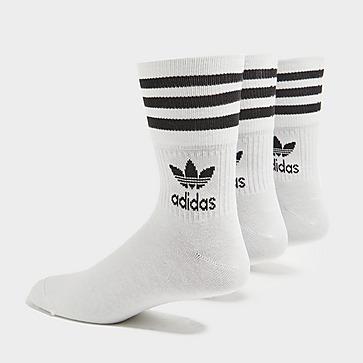 adidas Originals 3 Pack Solid Crew Socken Herren
