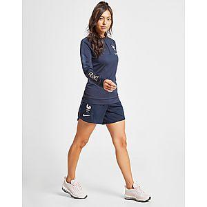 the latest e0874 552ff Nike France Squad Shorts Damen