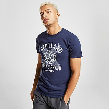 Official Team Scotland FA Alba Short Sleeve T-Shirt Herren