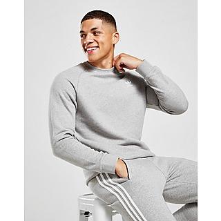 adidas herren essentials 3 stripes crew b sweatshirt weiß
