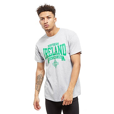 Official Team Nordirland Scroll T-Shirt