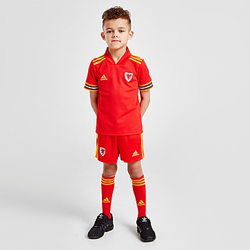 adidas Wales 2020 Home Kit Kleinkinder
