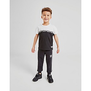 adidas outline t shirt schwarz damen