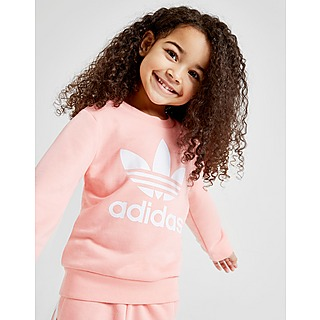 Adidas Originals Baby Mädchen Leggings & T Shirt Set