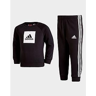 adidas trainingsanzug baby braun