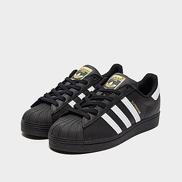 adidas Sstar J Blk/wht/blk